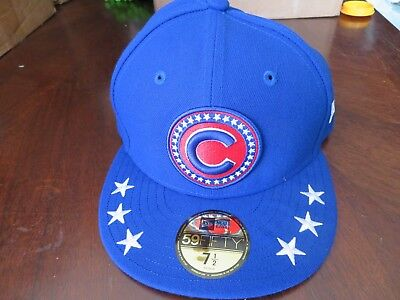 88ca24f267e CHICAGO CUBS NEW Era 2018 All-Star Workout Fitted Hat Cap 59FIFTY ...