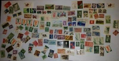 Collectible Lot Of Post Stamps Europe and USA   134pcs