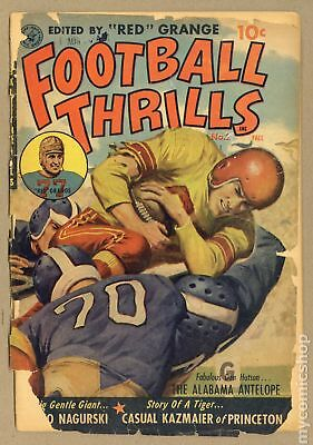 Football Thrills #2 1952 FR/GD 1.5