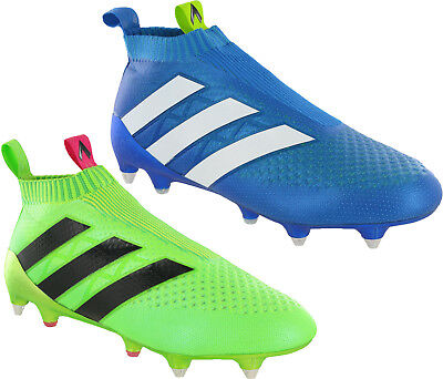 more photos 4a221 558f1 ADIDAS 16+ PURECONTROL SG Mens Laceless Football Boots Trainers Shoes UK 8  - 11