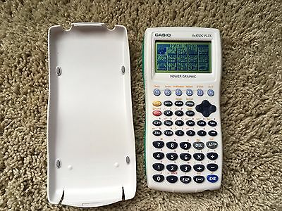 CASIO fx-9750G PLUS POWER GRAPHIC CALCULATOR with COVER ~ Great Condition