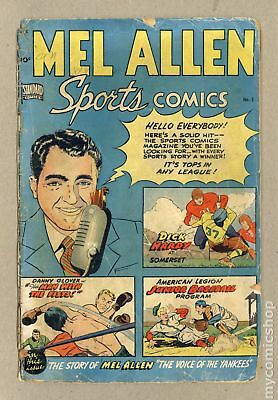 Mel Allen Sports Comics #5 1949 FR/GD 1.5 RESTORED