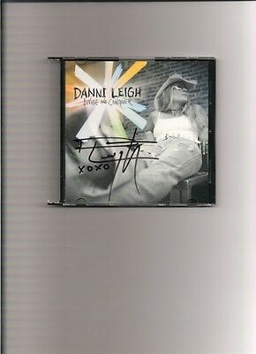 Guaranteed Autographed CD booklet signed by country singer Danni Leigh