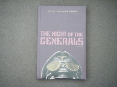 THE NIGHT OF THE GENERALS by Hans Hellmut Kirst. NEW Paperback Book
