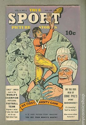 True Sport Picture Stories Vol. 3 #5 1946 VG/FN 5.0