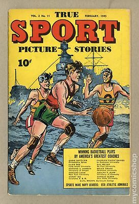 True Sport Picture Stories Vol. 2 #11 1945 VG- 3.5