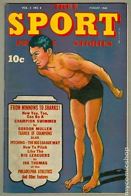True Sport Picture Stories Vol. 3 #2 1945 VG 4.0