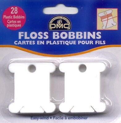 Plastic Floss Bobbin DMC Cross Stitch Needlepoint Sewing Notion