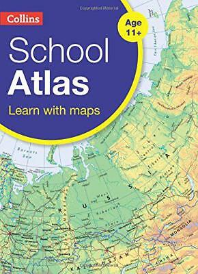 Collins School Atlas (Collins School Atlas) by Collins Maps | Paperback Book | 9