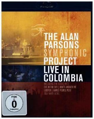 Live In Colombia - The Alan Parsons Symphonic Project Blu Ray NEU