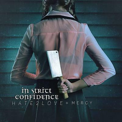 IN STRICT CONFIDENCE Hate2love & Mercy LIMITED 2LP GATEFOLD VINYL 2018