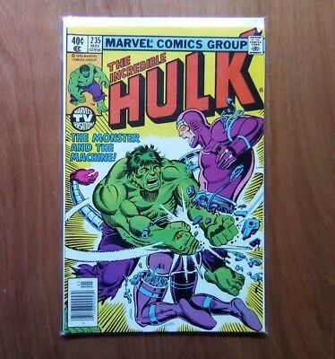 INCREDIBLE HULK VOL.1 #235 MARVEL COMICS MAY 1979 1st PRINT CENTS COPY V/FINE