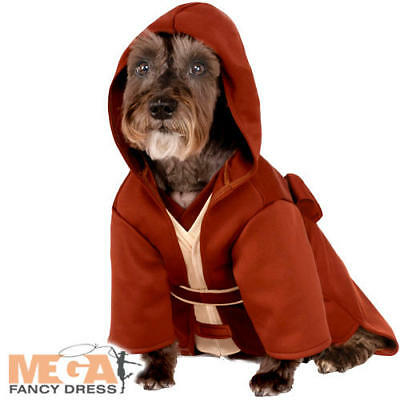 The Last Jedi Dog Fancy Dress Star Wars The Force Awakens Puppy Pet Costume New