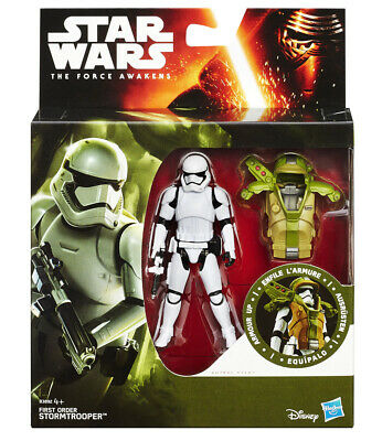Star Wars 2015 Armor Up Actionfiguren: Wave 1 First Order Stormtrooper (Episode