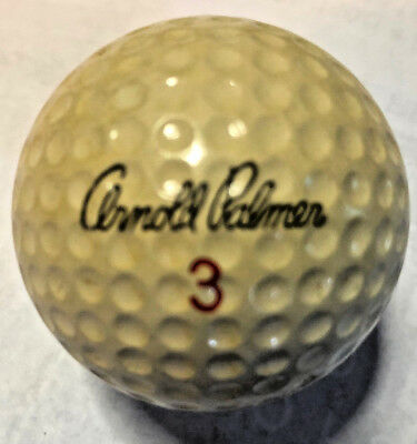 Golf Ball  Signature  ARNOLD PALMER 3 / PERSONAL 3 - The Distance Ball - 900+