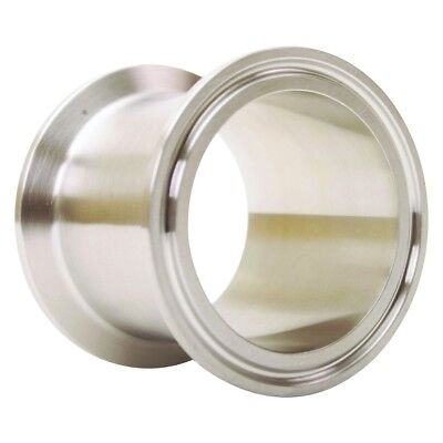 Sanitary Spool | Tri Clamp 2 inch x 2 - SS304 / 3A (3 Pack)