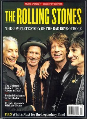 The Rolling Stones - Complete Story Of The Bad Boys Of Rock (Music Spotlight)