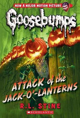 Attack of the Jack-o'-lanterns (classic Goosebumps #36) by R.L. Stine (English)