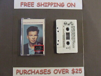 Rick Astley Hold Me In Your Arms W/ She Wants To Dance With Me 1988 Cassette