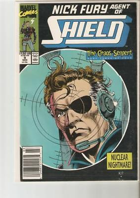 Marvel: Nick Fury Agent of Shield (1990-1993) Your Choice #'s 9-43