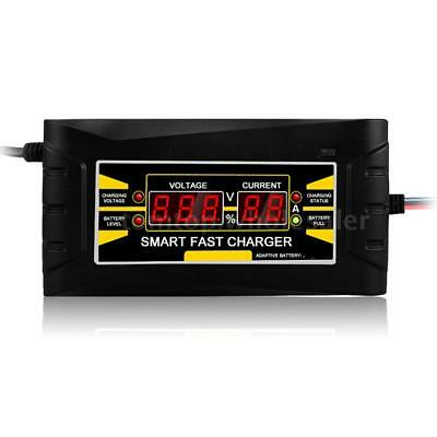 Full Automatic Smart 12V 10A Lead Acid/GEL Battery Charger w/ LCD Display M8K2