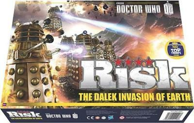 USAOpoly Boardgame Risk - Doctor Who, The Dalek Invasion of Earth Box SW