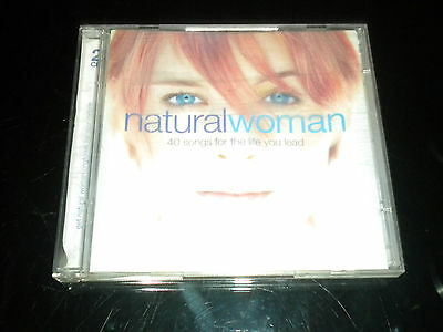 Natural Woman - 40 Songs For The Life You PLOMO - 2cds Álbum - 2004