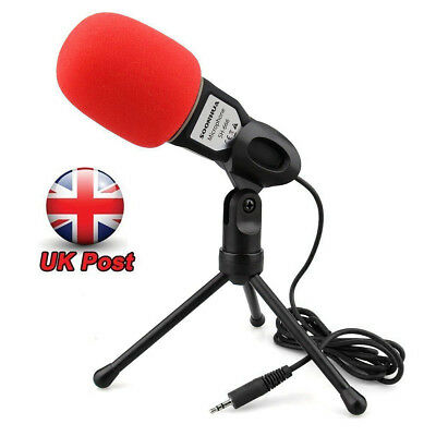Professional Condenser Sound Voice Podcast Studio Microphone For Computer Laptop