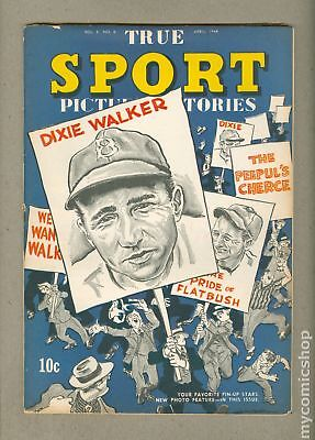 True Sport Picture Stories Vol. 2 #6 1944 FN- 5.5