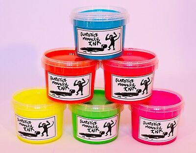 Fabric Screen Printing Ink Water based Eco friendly 6 colour Bright Young Things