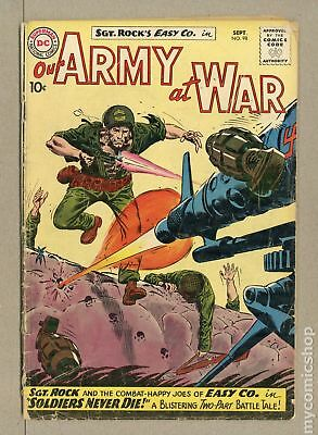 Our Army at War #98 1960 FR 1.0