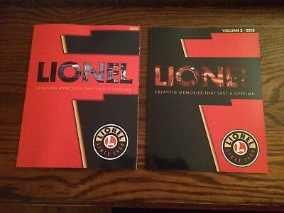 Lionel 2018 Catalogs Book 1 and the newly released Book 2!!! In Stock Ships NOW!