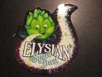 ELYSIAN BREWING seattle SPACE DUST IPA LOGO STICKER decal craft beer brewery
