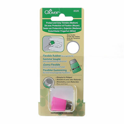 Protect and Grip Thimble Medium  Clover #6026 Sewing Quilt Notion