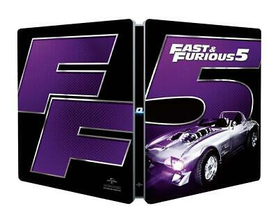 Fast And Furious 5 Limited Edition Steelbook / Region Free Blu Ray... - Movie