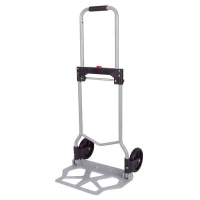 Hand Truck Steel 154.3 Lbs Max Load Stacking Cart Transport Box Foldable