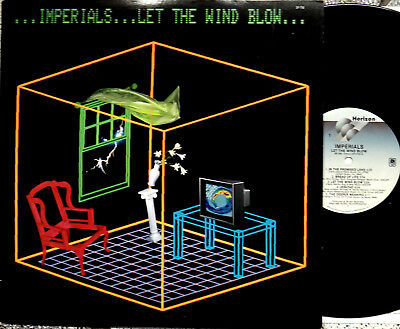 Imperials let the wind blow LP 12` Vinyl A&M records SP-750 Textbeilage