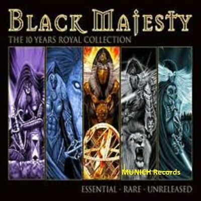 BLACK MAJESTY  The 10 Years Royal Collection  2 CD   NEU & OVP 14.09.2018