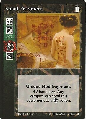 Shaal Fragment x1 Heirs to the Blood Reprint 1 HttB R1 VTES Jyhad