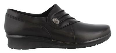 Clarks Hope Roxanne Low Heel Shoes Leather Womens Casual Shoes