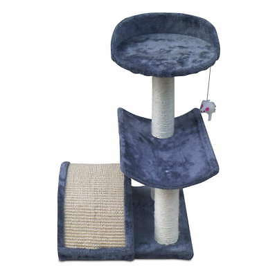 60cm Cat Scratching Post Tree Gym House Scratcher Pole Furniture Bed Toy S @AU