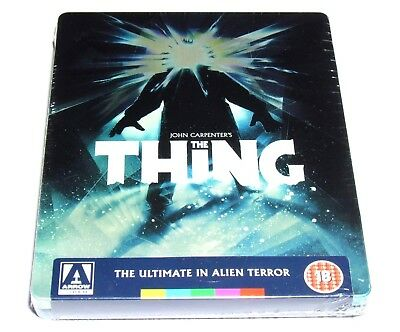 The Thing Blu-Ray Steelbook Arrow Video Uk Limited Edition Brand New Oop