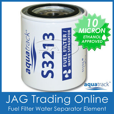 FUEL FILTER ELEMENT S3213 WATER SEPARATOR -Suits Clear Bowl Outboard/Boat/Marine