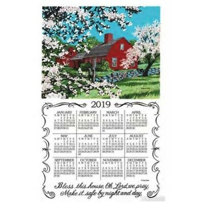 2019 Bless This House Towel Calendar, Kitchen Towel by Kay Dee Designs