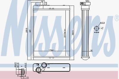 Nissens Heat Exchanger 70231