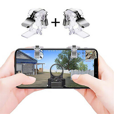Newest PUBG Mobile Game Controller Sensitive Shoot And Aim Trigger Fire Buttons