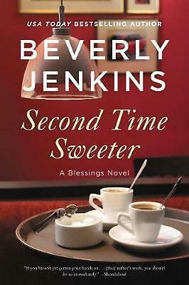 Second Time Sweeter by Beverly Jenkins Hardcover Book Free Shipping!