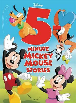 5-minute Mickey Mouse Stories by Disney Book Group Hardcover Book Free Shipping!