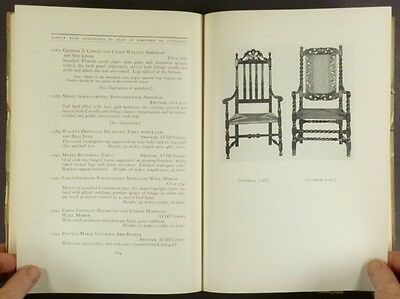 Antique American Furniture & Staffordshire - Lowndes Collection 1935 Catalog