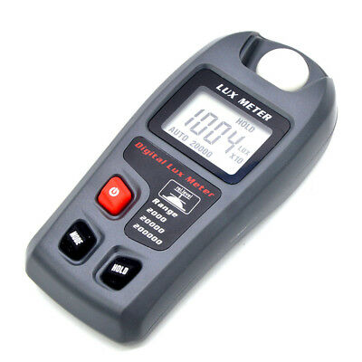 Digital Lux Meter 200,000 Digital LCD Pocket Light Meter Lux/FC Measure Tester